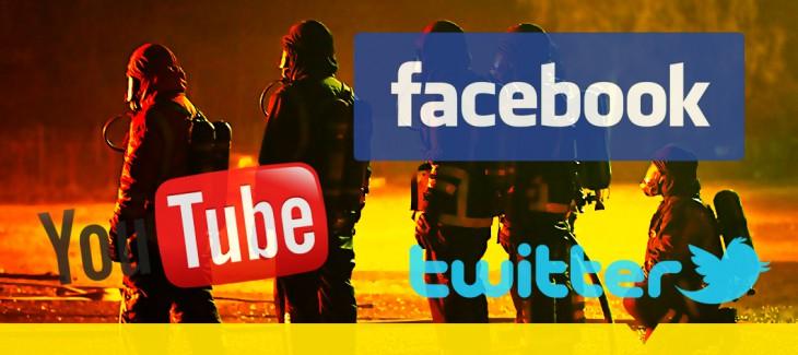 NY Knapp Sociala medier