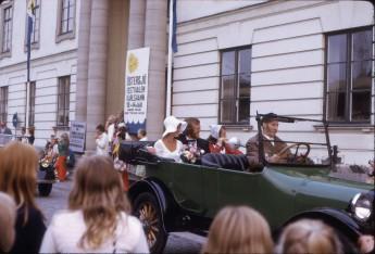 Östersjöfestival 1973 Festivaltåget