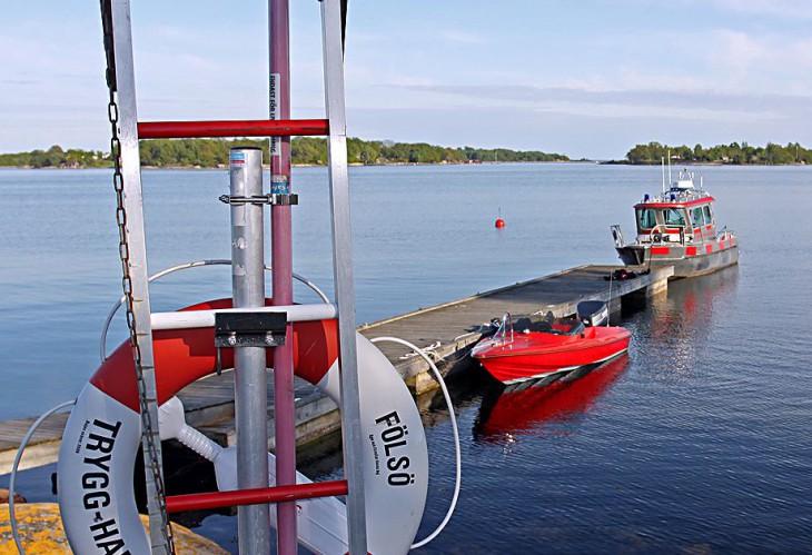 Livräddningsutrustning båt