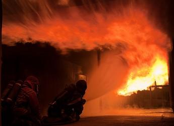 gasolsläckning övning