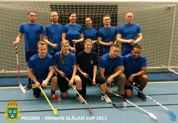 Vinnare Blåljuscup 2013