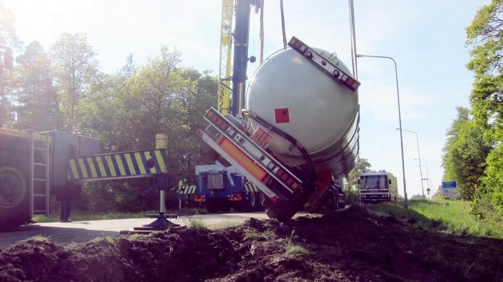 Tankbilsolycka